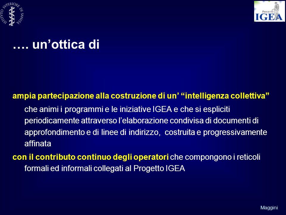 …. un'ottica di ampia partecipazione alla costruzione di un' intelligenza collettiva