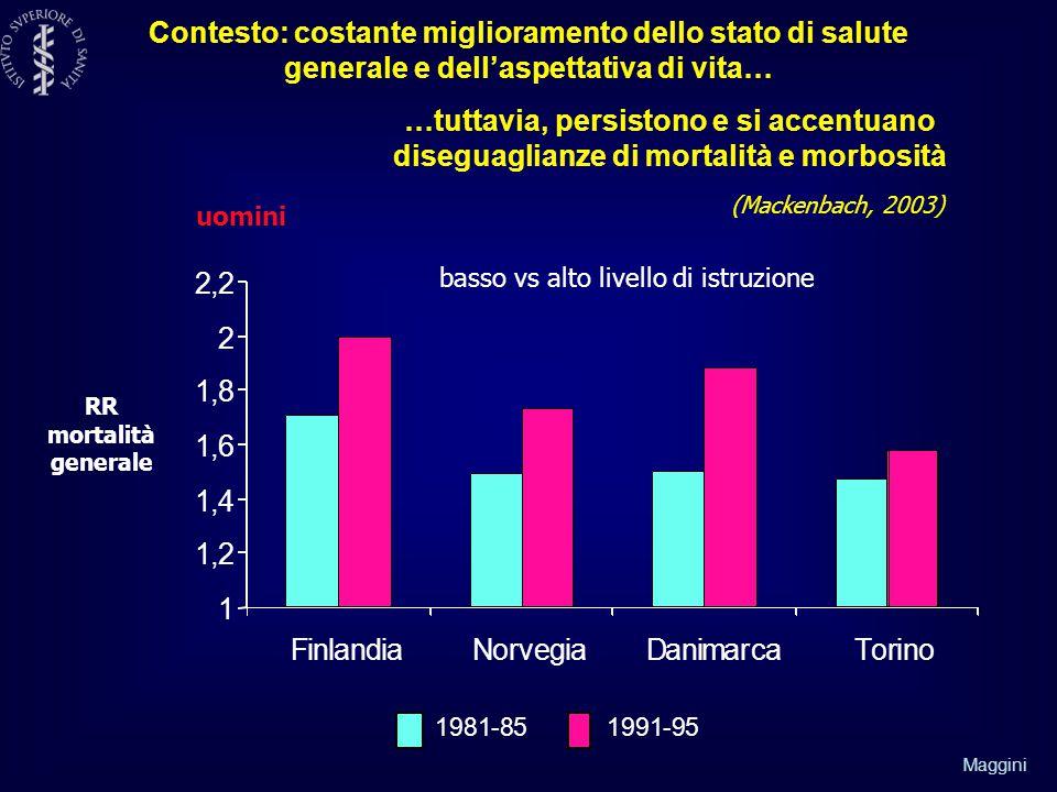 basso vs alto livello di istruzione