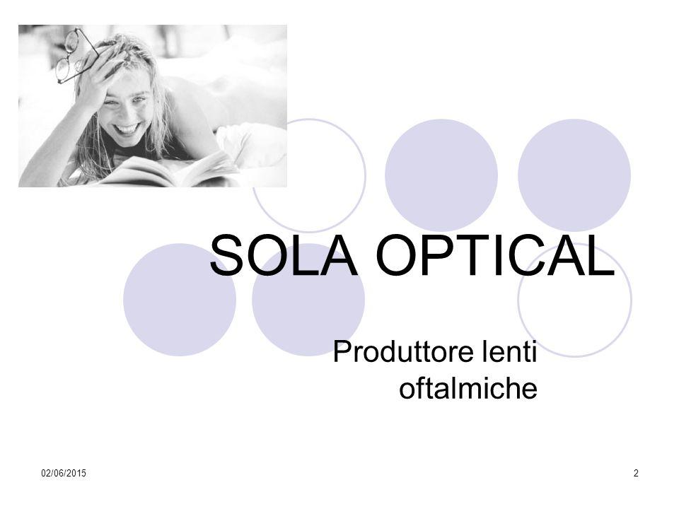 Produttore lenti oftalmiche