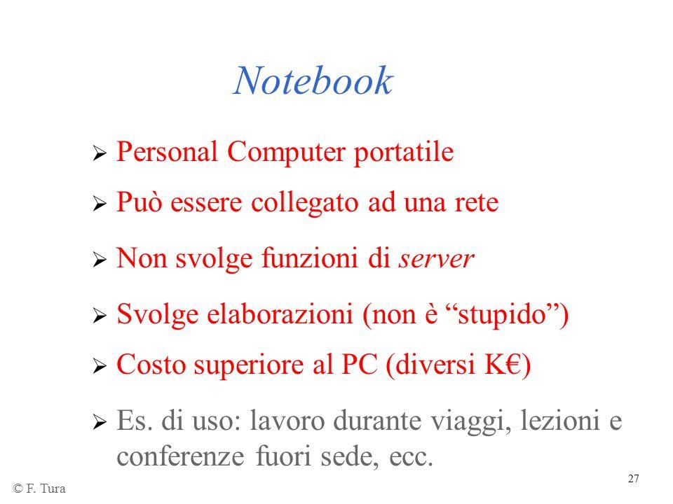 Notebook Personal Computer portatile Può essere collegato ad una rete