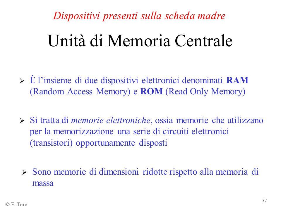 Unità di Memoria Centrale