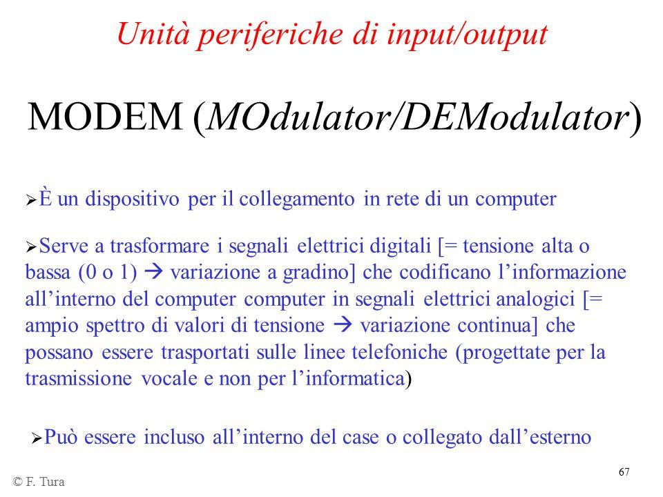 Unità periferiche di input/output