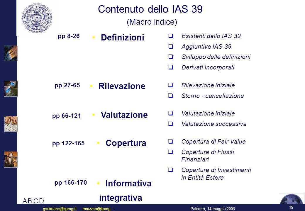 Il Recepimento degli IAS in Italia