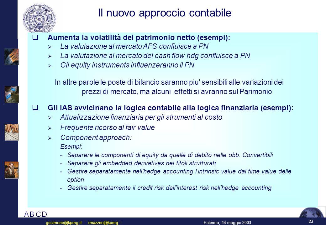 Il nuovo accordo di Basilea sul Capitale ( Basilea2 )