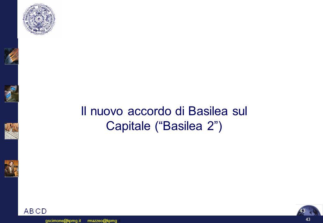 Il nuovo accordo di Basilea sul capitale
