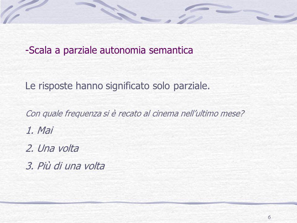 Scala a parziale autonomia semantica