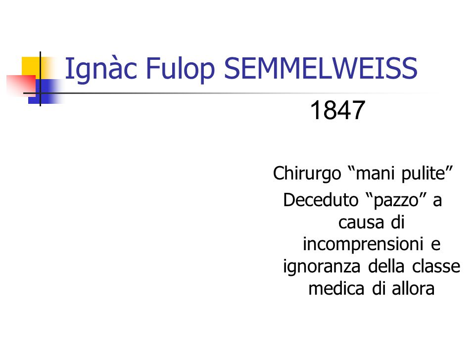 Ignàc Fulop SEMMELWEISS