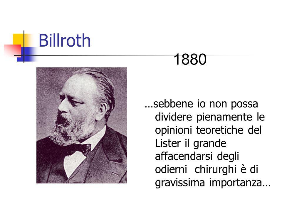 Billroth 1880.