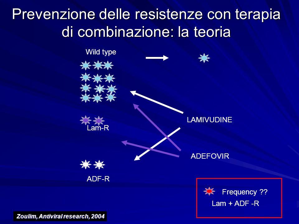 Prevenzione delle resistenze con terapia di combinazione: la teoria