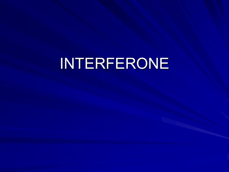 INTERFERONE