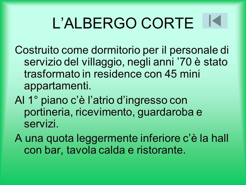 L'ALBERGO CORTE