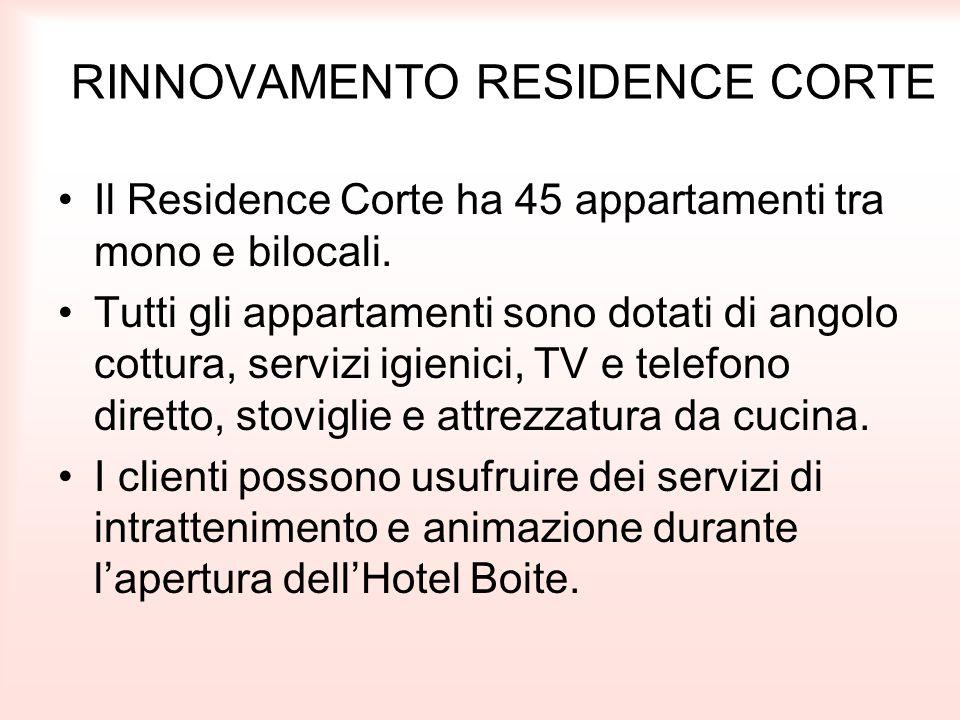 RINNOVAMENTO RESIDENCE CORTE