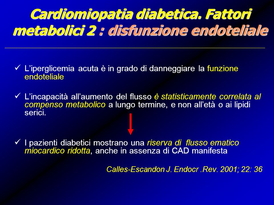 Cardiomiopatia diabetica