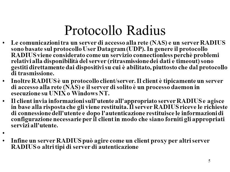 Protocollo Radius