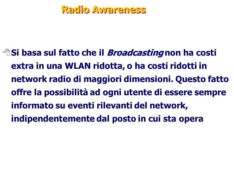 Radio Awareness
