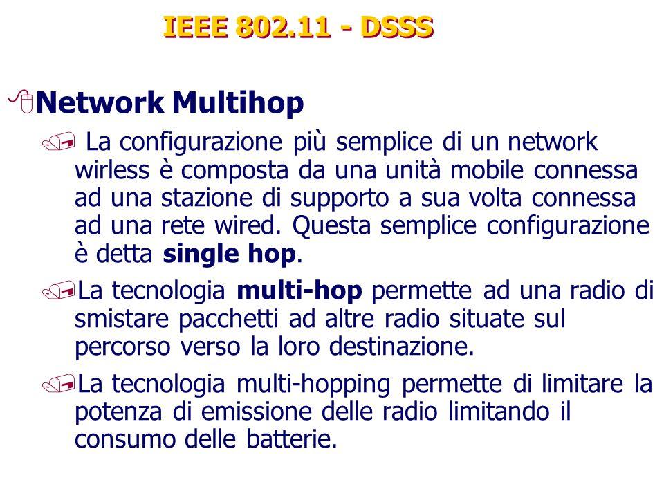 Network Multihop IEEE 802.11 - DSSS