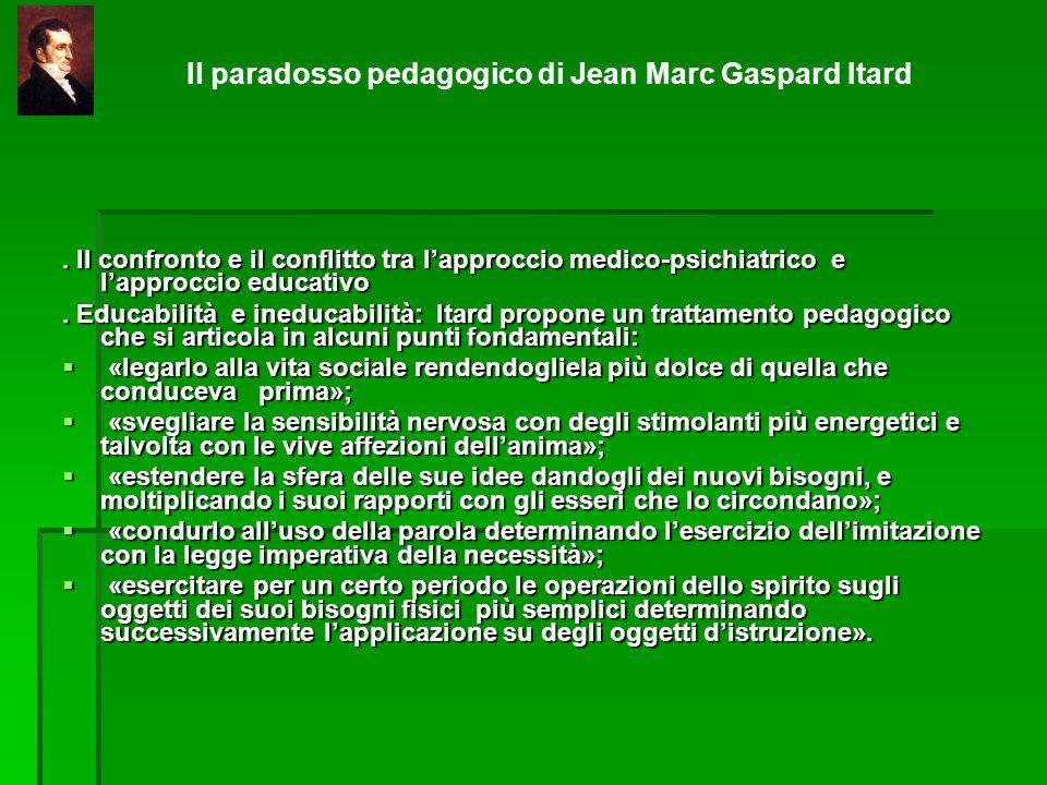 Il paradosso pedagogico di Jean Marc Gaspard Itard