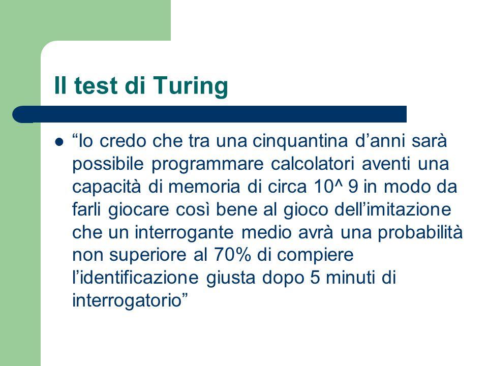 Il test di Turing