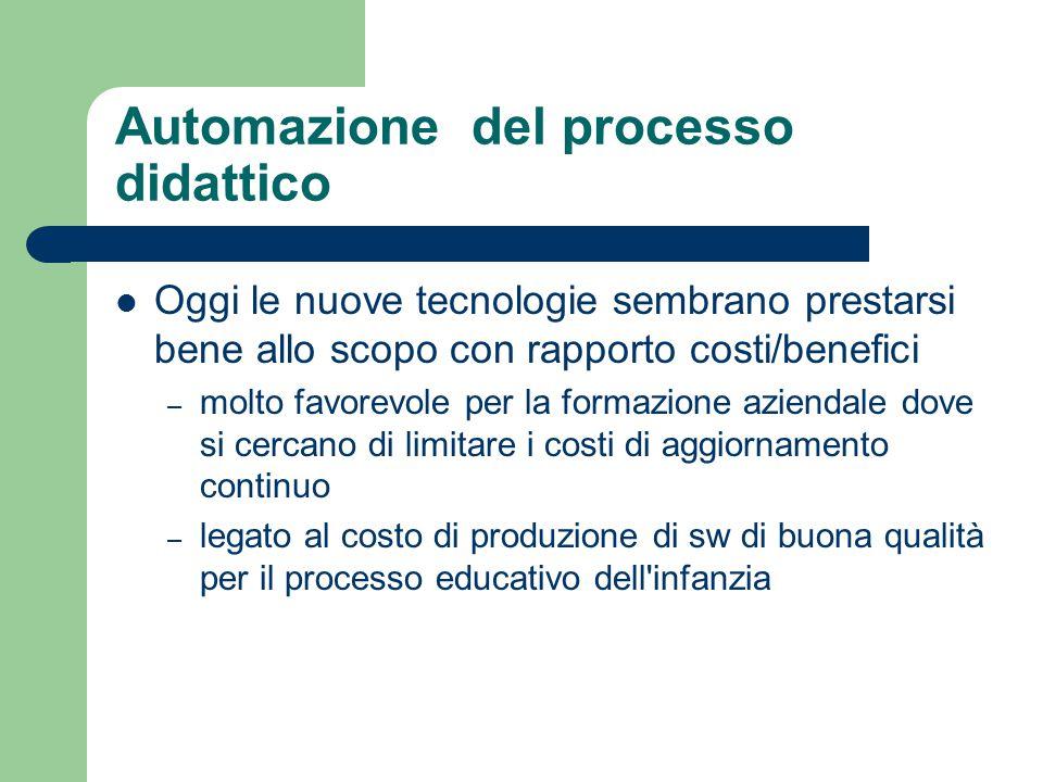 Automazione del processo didattico