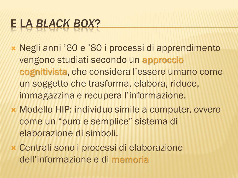 E la black box