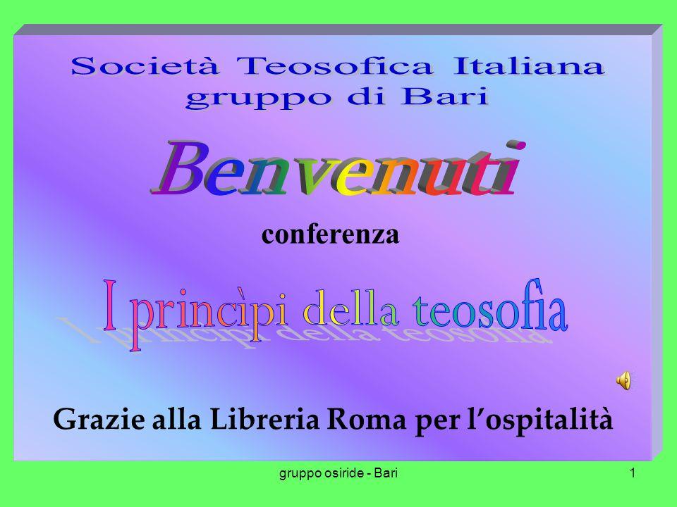 Società Teosofica Italiana gruppo di Bari