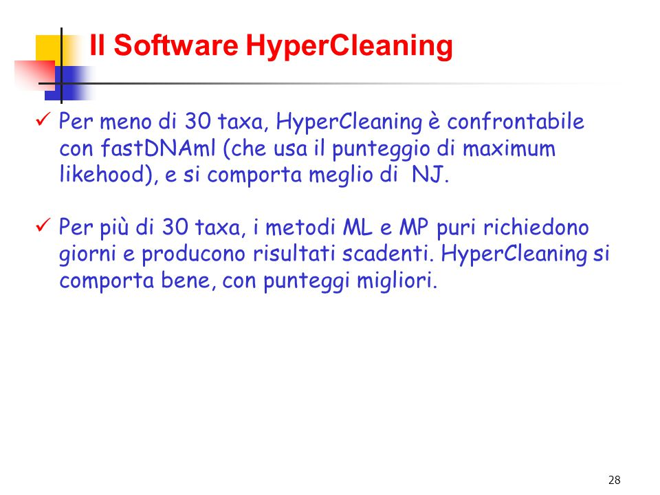 Il Software HyperCleaning