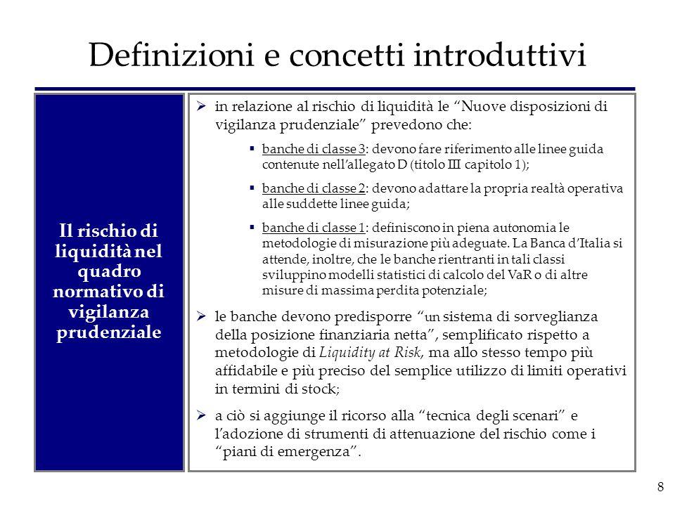Definizioni e concetti introduttivi
