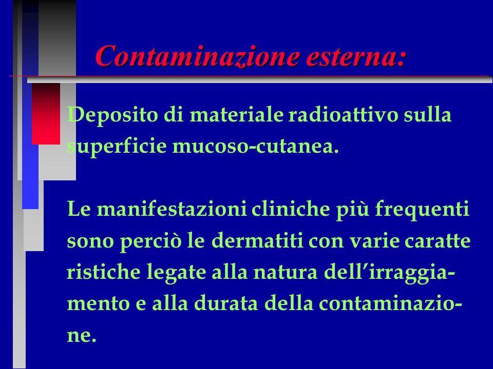 Contaminazione esterna: