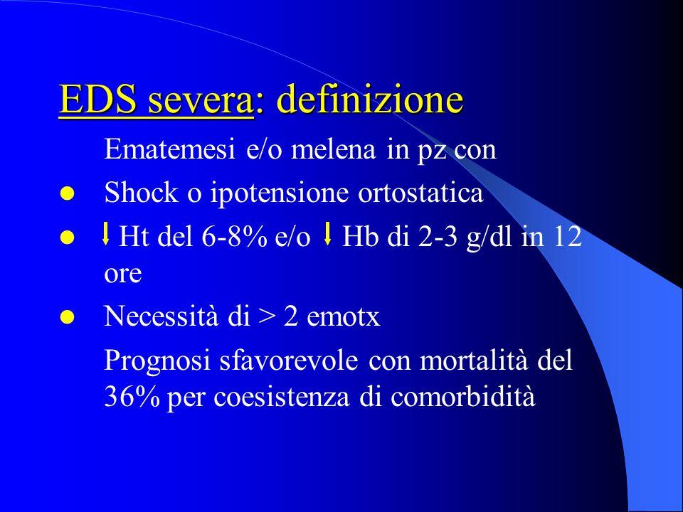 EDS severa: definizione