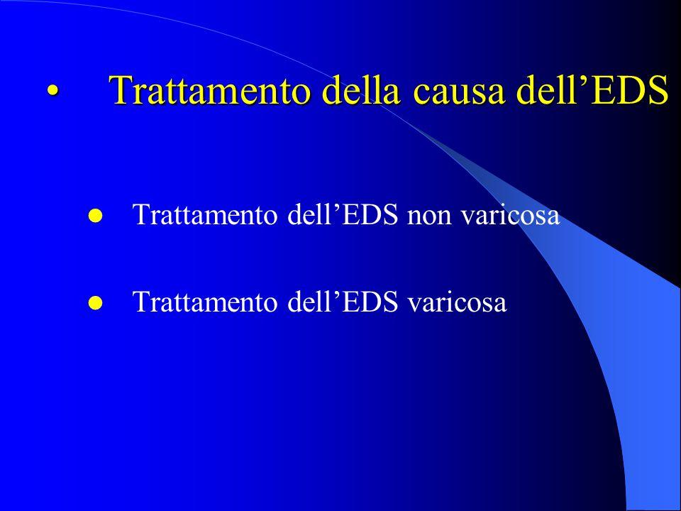 Trattamento della causa dell'EDS