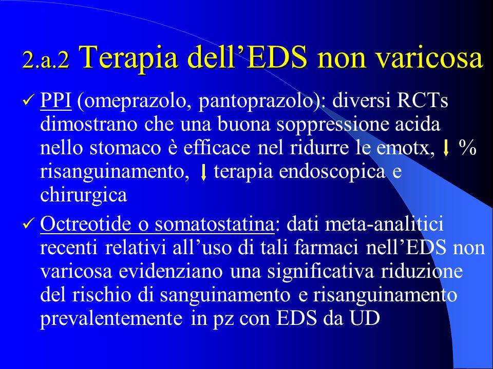 2.a.2 Terapia dell'EDS non varicosa
