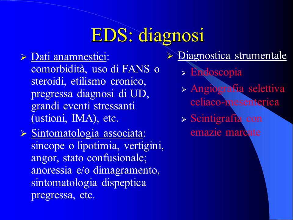 EDS: diagnosi Diagnostica strumentale