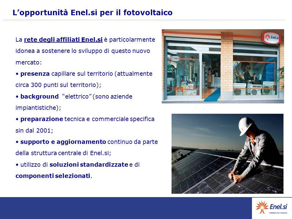 L'opportunità Enel.si per il fotovoltaico