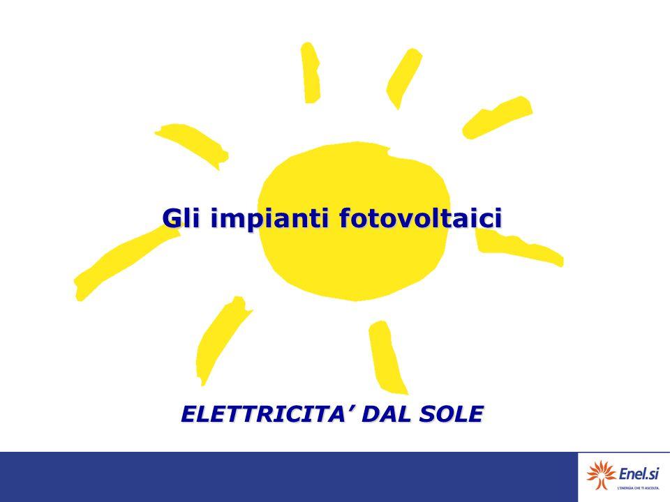Gli impianti fotovoltaici