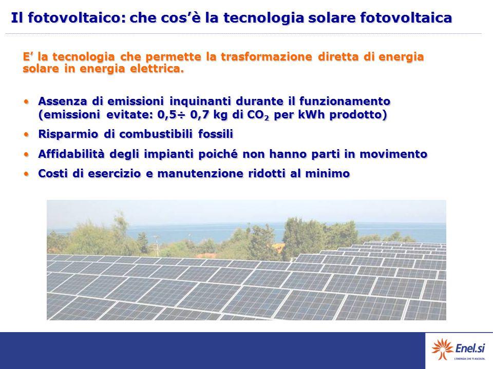 Il fotovoltaico: che cos'è la tecnologia solare fotovoltaica