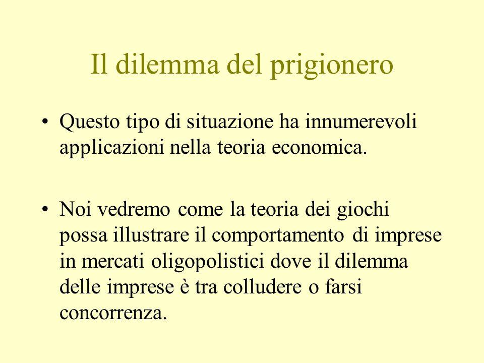 Il dilemma del prigionero