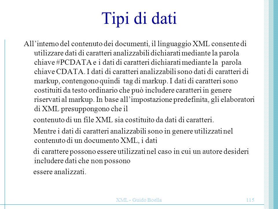 Tipi di dati