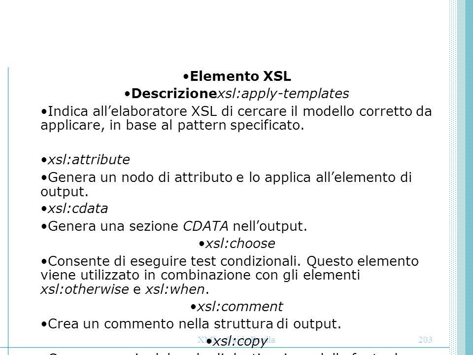 Descrizionexsl:apply-templates