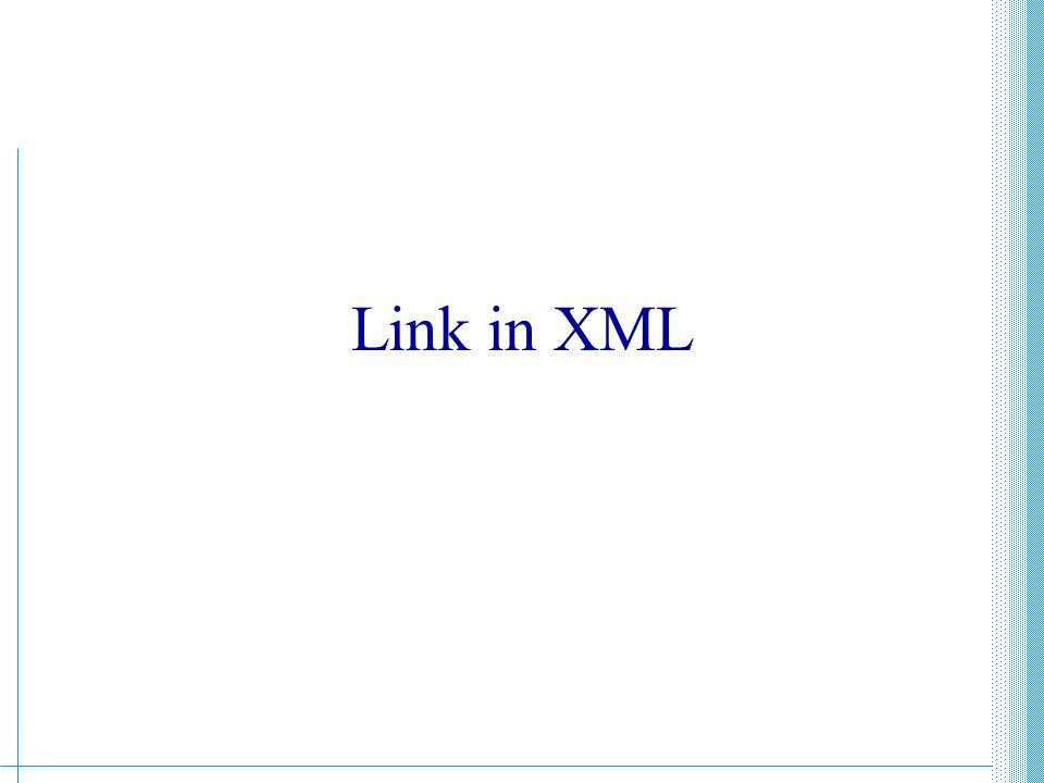 Link in XML