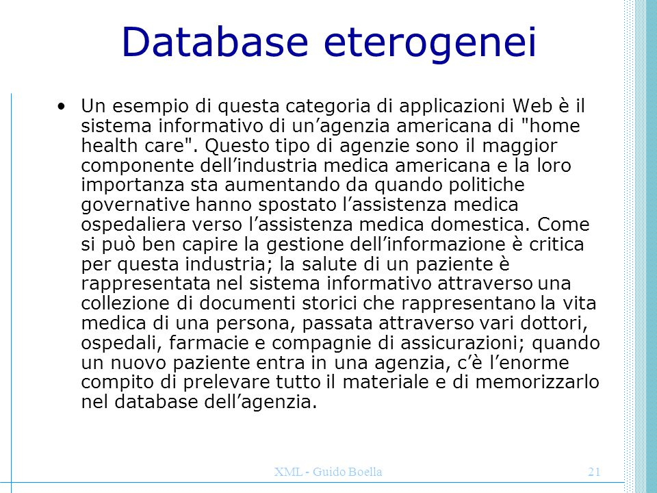 Database eterogenei