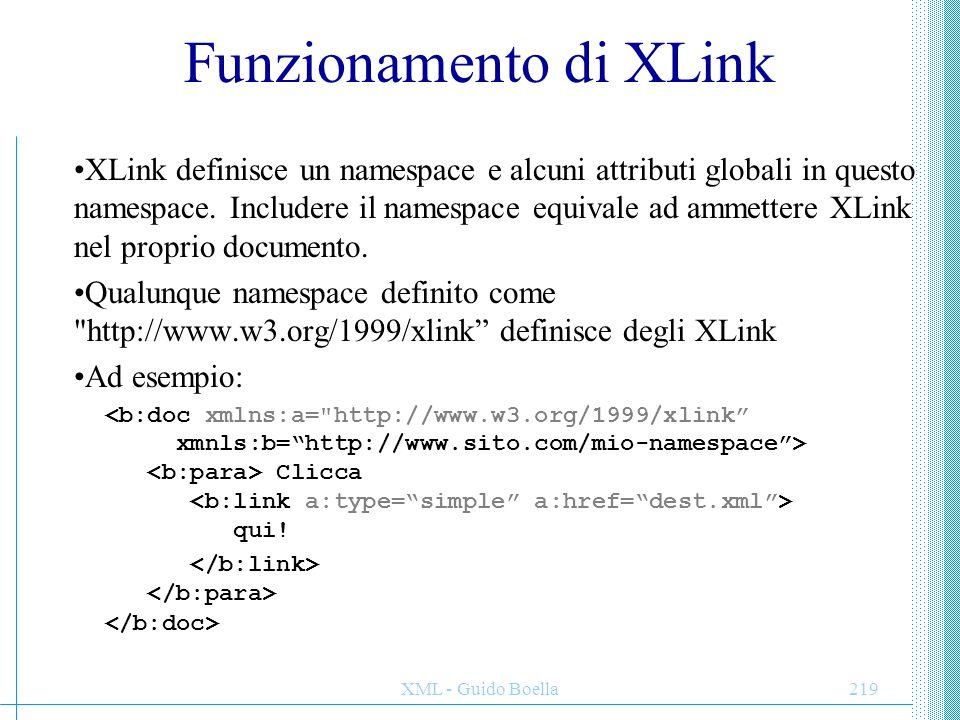 Funzionamento di XLink