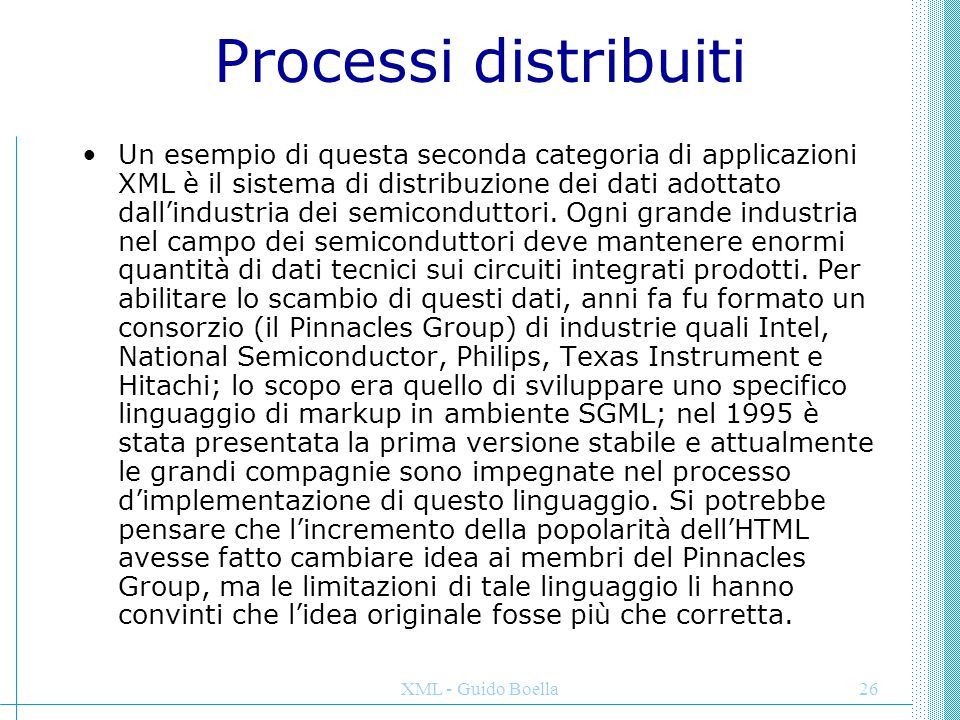 Processi distribuiti