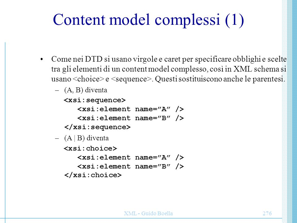 Content model complessi (1)