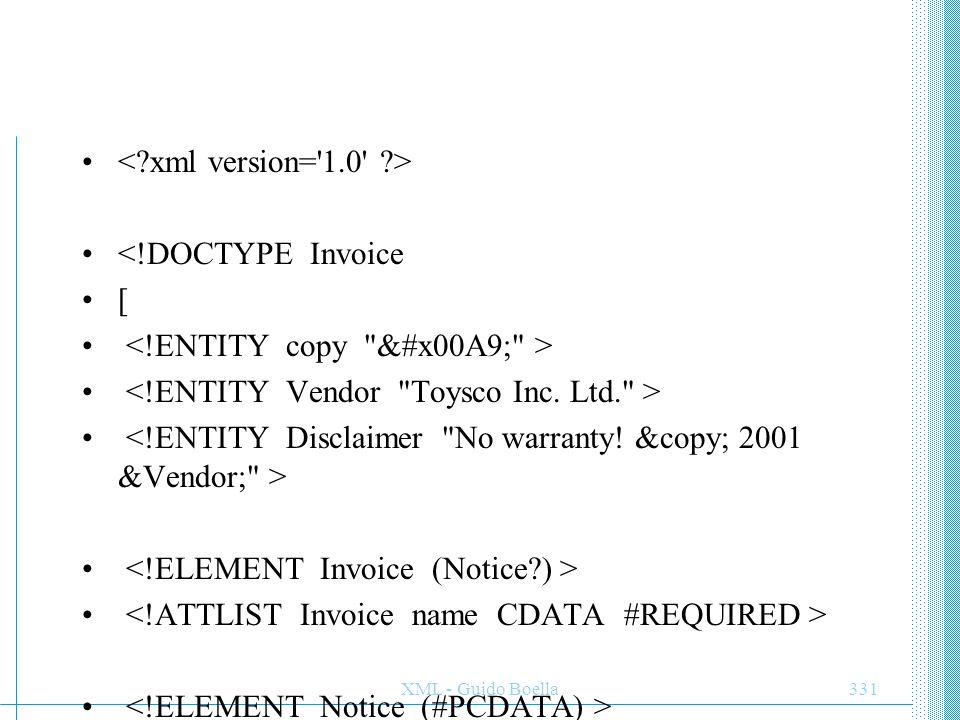 <!ENTITY copy © >