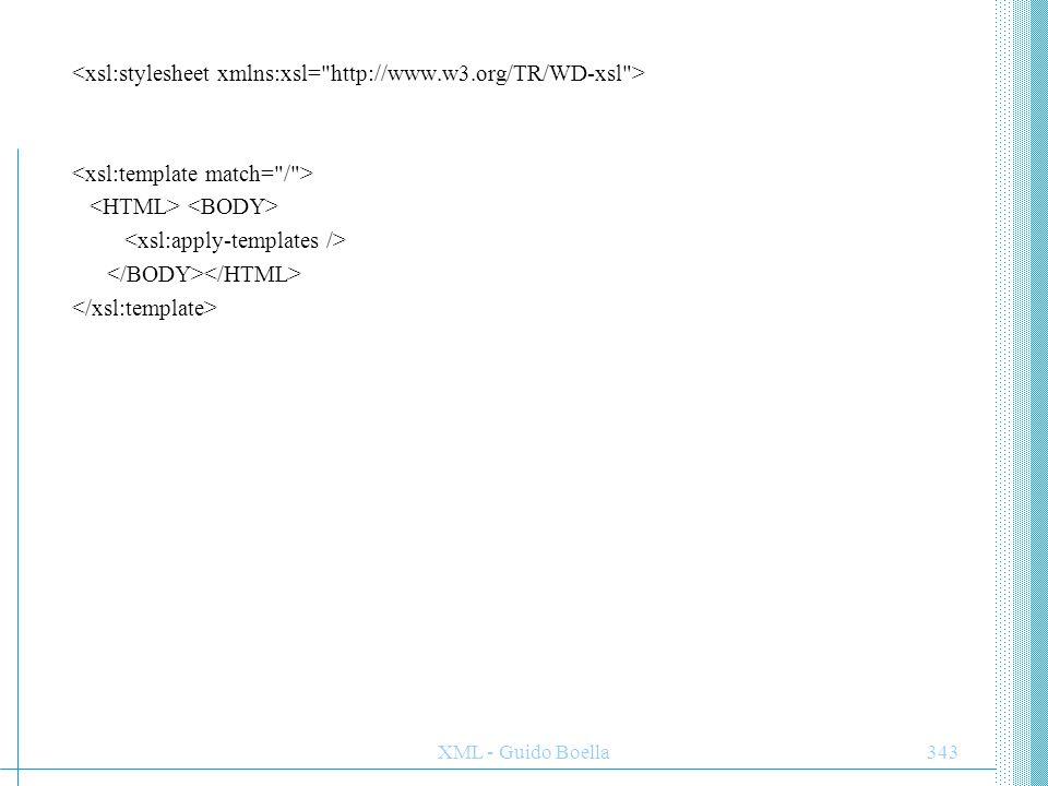 <xsl:stylesheet xmlns:xsl= http://www.w3.org/TR/WD-xsl >