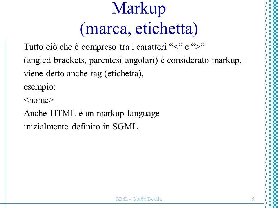 Markup (marca, etichetta)