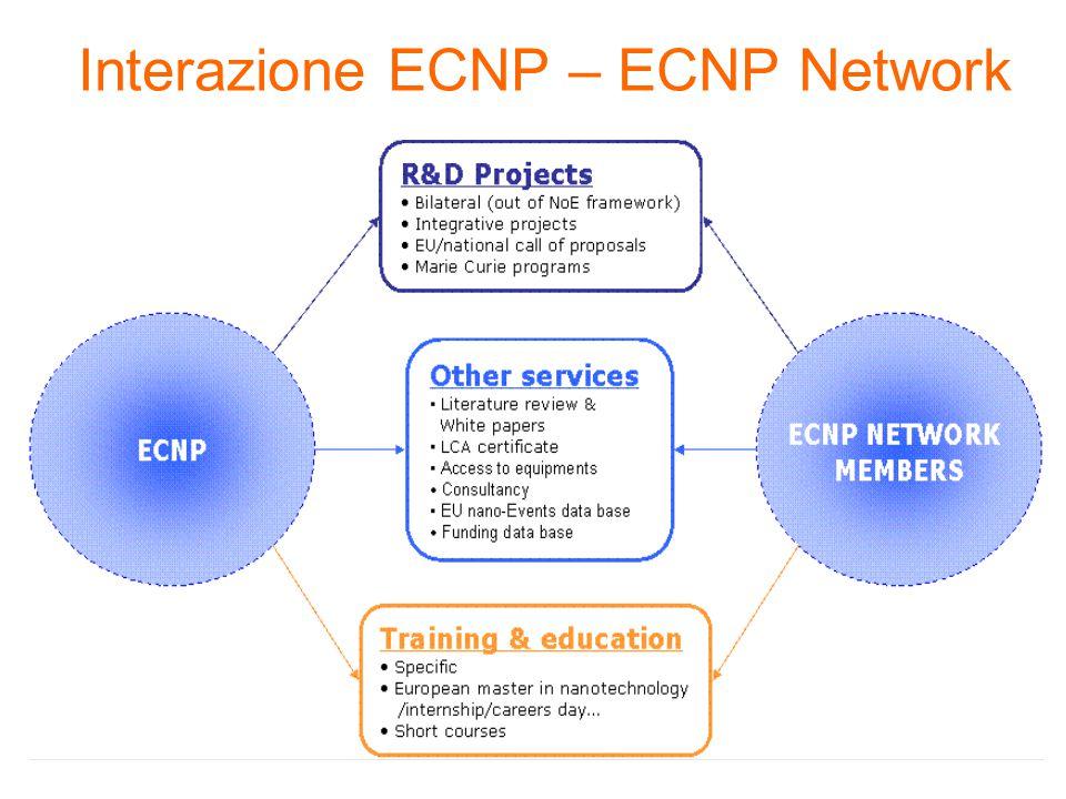 Interazione ECNP – ECNP Network