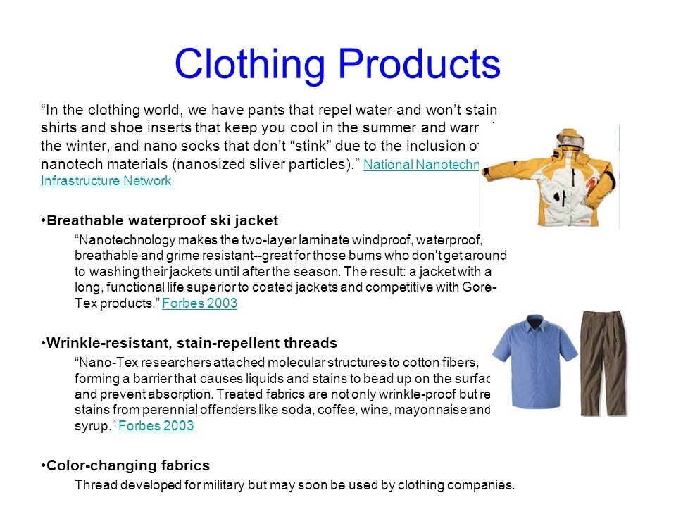 Clothing Products