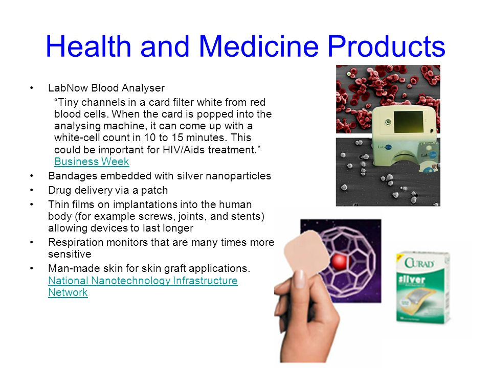 Health and Medicine Products