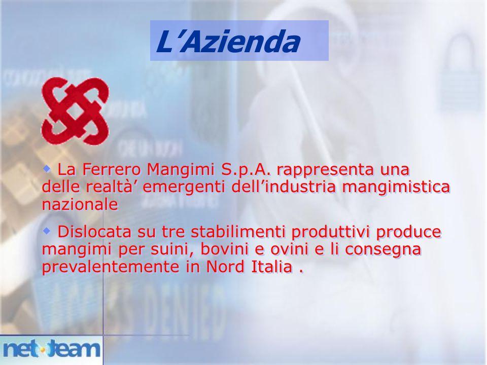 L'Azienda La Ferrero Mangimi S.p.A. rappresenta una delle realtà' emergenti dell'industria mangimistica nazionale.